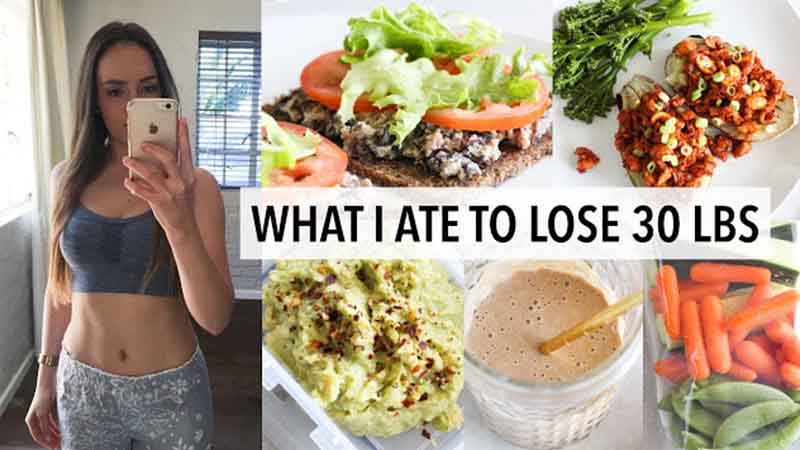 7-day Menu: Lose 20 Pounds In a Month Eating Everything!