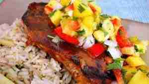 Grilled Tuna Steak Recipe Bobby Flay Featured Images