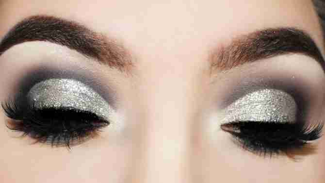 Silver and Smoky Eyes